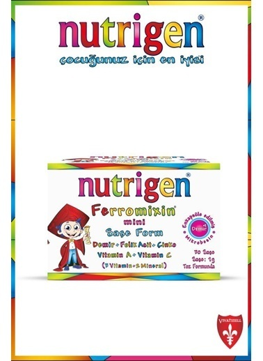 Nutrigen Nutrigen Ferromixin Mini Saşe Form 30 Saşe Renksiz